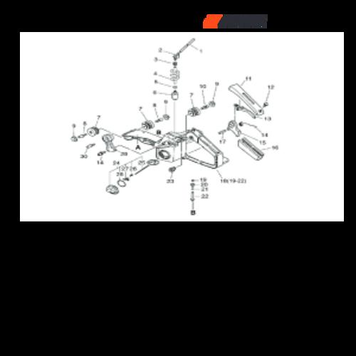 CSG-680 SN C23220001001 - C23220999999 - Fuel System, Throttle Control Parts lookup