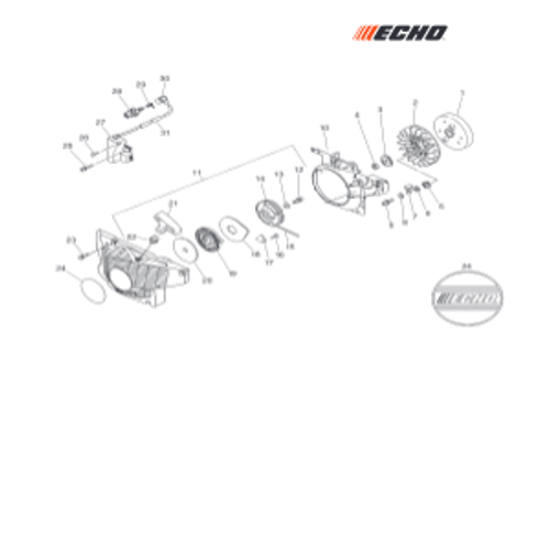CSG-680 SN C02004001001 - C02004999999 - Ignition, Starter Parts lookup