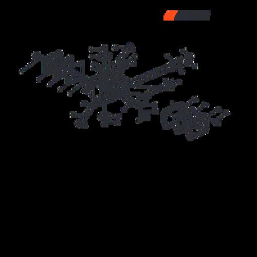 CSG-680 SN C02004001001 - C02004999999 - Carburetor Parts lookup