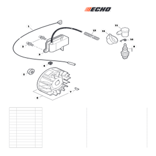 EA-410 SN: E52012001001 - E52012999999 - Ignition Parts lookup