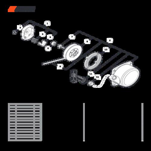 EA-410 SN: E52012001001 - E52012999999 - Starter Parts lookup
