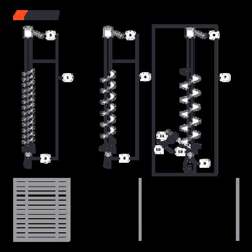 EA-410 SN: E52012001001 - E52012999999 - Accessories: Earth Auger Parts lookup