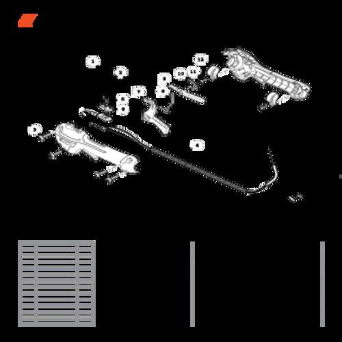 SHC-266 SN T44012001001 - T44012999999 - Control Handle SN: T44012006494 - T44012008539 Parts lookup
