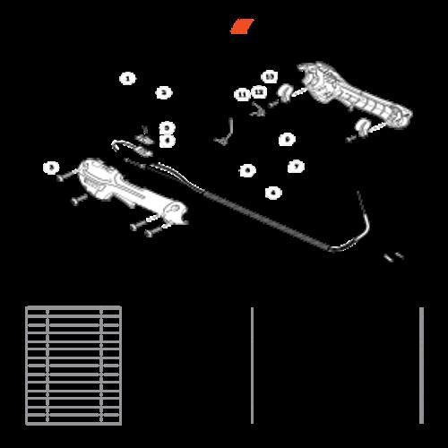 SHC-266 SN T44012001001 - T44012999999 - Control Handle SN: T44012008540 - T44012999999 Parts lookup