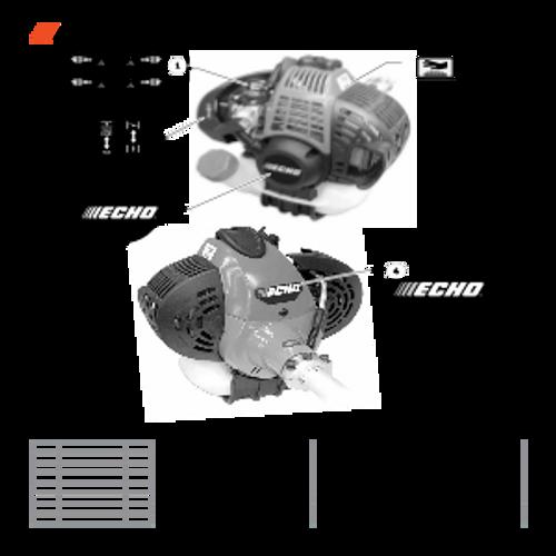 SHC-266 SN T44012001001 - T44012999999 - Labels Parts lookup
