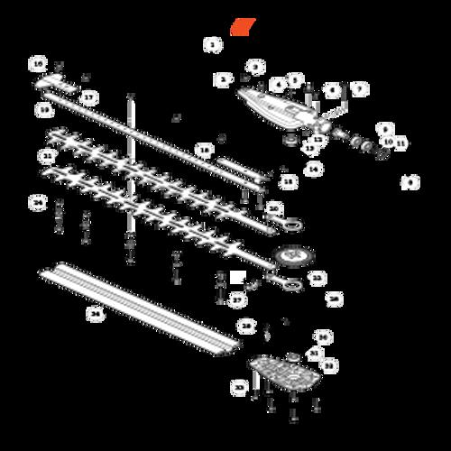 SHC-266 SN T44012001001 - T44012999999 - Gear Case, Cutters Parts lookup