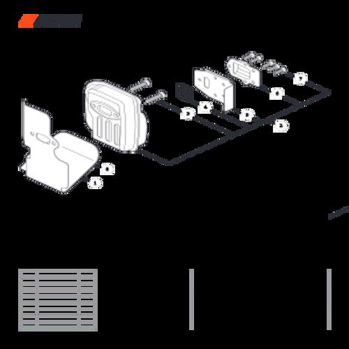 PPT-2620H SN E60515001001 - E60515999999 - Exhaust Parts lookup