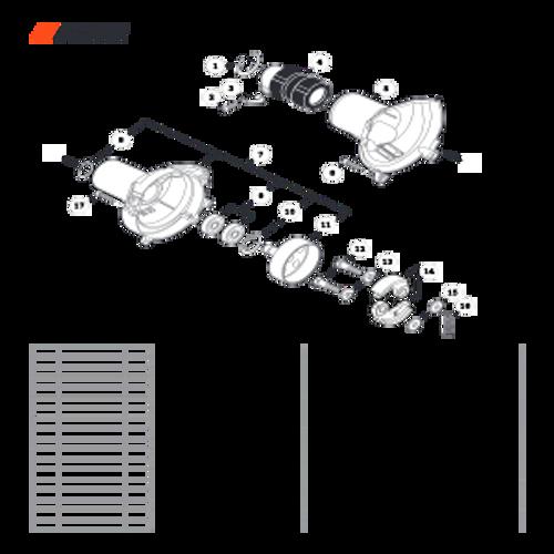 PPT-2620H SN E60515001001 - E60515999999 - Fan Case Parts lookup