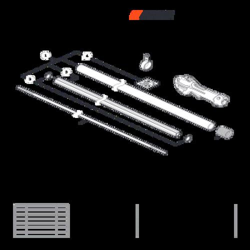 PPT-2620H SN E60515001001 - E60515999999 - Main Pipe Parts lookup