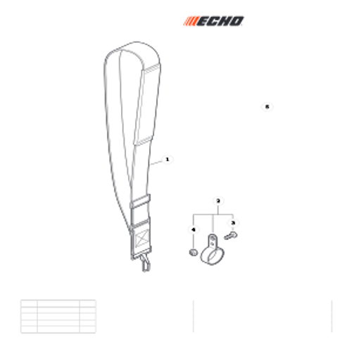 PPT-2620H SN E60515001001 - E60515999999 - Shoulder Strap Parts lookup