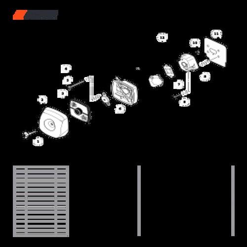 WP-1000 SN: W15103_121917 - Intake Parts lookup