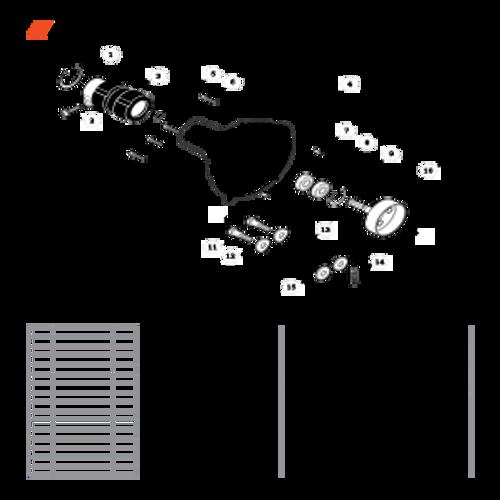 PPT-280 SN E20814001001 - E20814999999 - Fan Case Parts lookup