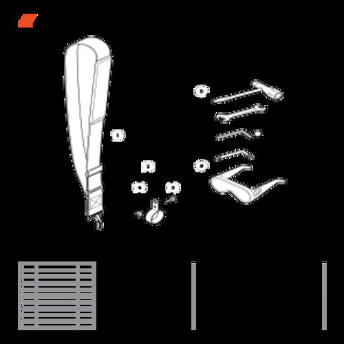 PPT-280 SN E20814001001 - E20814999999 - Shoulder Strap, Tools Parts lookup