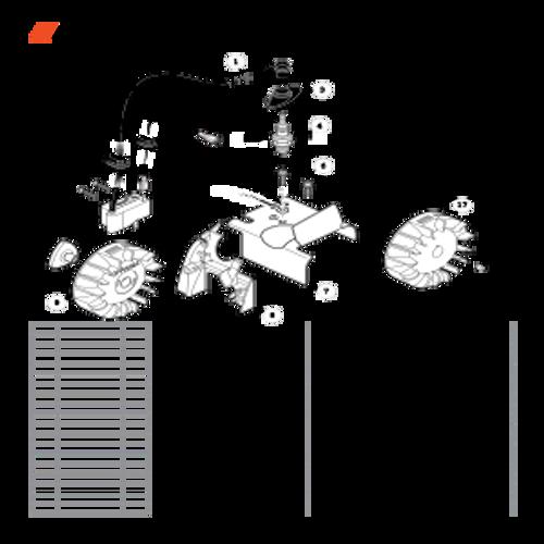 ES-255 SN: P07213001001 - P07213999999 - Ignition Parts lookup