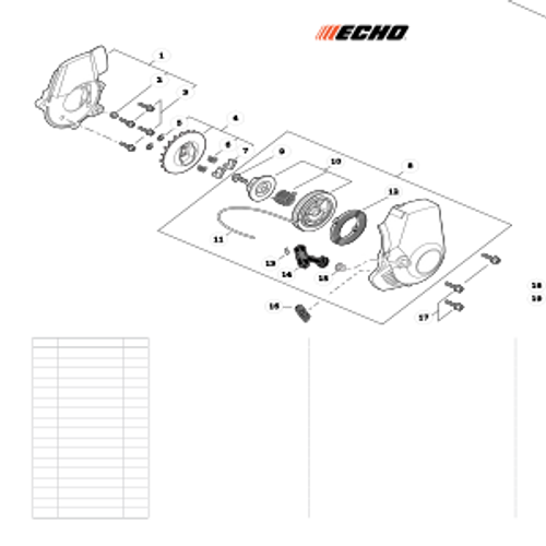 ES-255 SN: P07213001001 - P07213999999 - Starter S/N: P07213001001 - P07213004060 Parts lookup