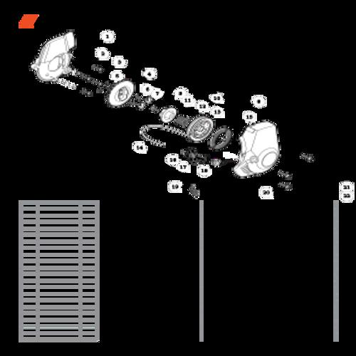 ES-255 SN: P07213001001 - P07213999999 - Starter S/N: P07213004061 - P07213999999 Parts lookup