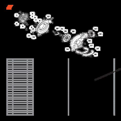 ES-255 SN: P07213001001 - P07213999999 - Fan Case Parts lookup