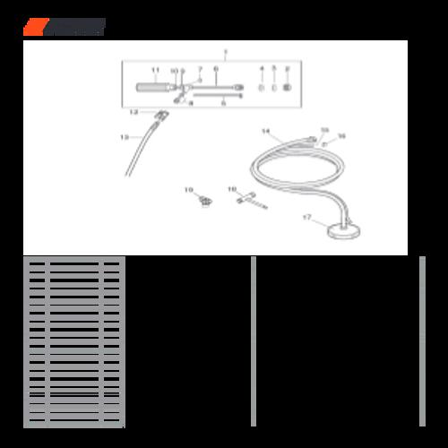 PHP-800 SN: H00326001001-H00326999999 - Nozzle Unit Parts lookup