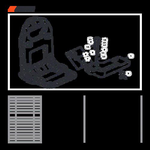 MB-580 SN: D02026001001 - D02026999999 - Fuel System Parts lookup
