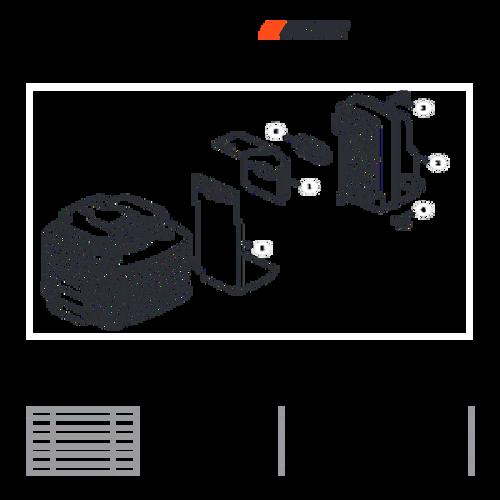 MB-580 SN: D02026001001 - D02026999999 - Exhaust Parts lookup
