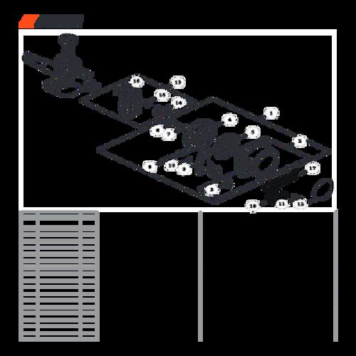 MB-580 SN: D02026001001 - D02026999999 - Starter Parts lookup