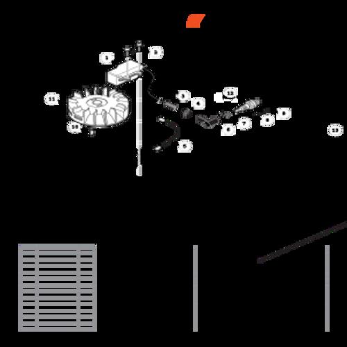 TC-210 SN: E14712001001 - E14712999999 - Ignition Parts lookup