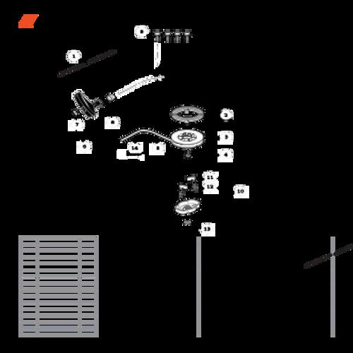 TC-210 SN: E14712001001 - E14712999999 - Starter Parts lookup