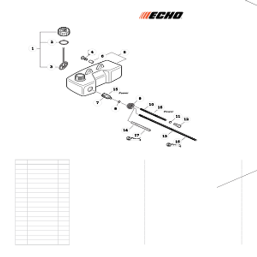 TC-210 SN: E14712001001 - E14712999999 - Fuel System SN: E14712001001 - E1471200800 Parts lookup