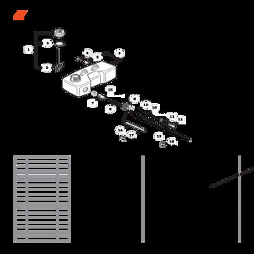 TC-210 SN: E14712001001 - E14712999999 - Fuel System SN: E14712001801 - E14712014834  Parts lookup