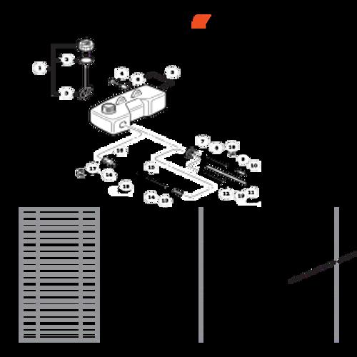 TC-210 SN: E14712001001 - E14712999999 - Fuel System SN: E14712014835 - E14712999999 Parts lookup