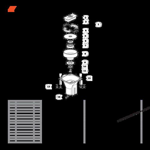 TC-210 SN: E14712001001 - E14712999999 - Clutch Case, Clutch Parts lookup