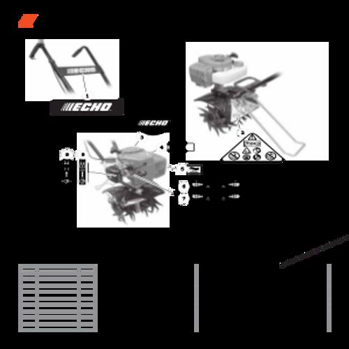 TC-210 SN: E14712001001 - E14712999999 - Labels Parts lookup