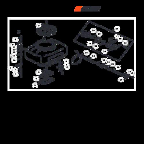 MB-580 SN: D02026001001 - D02026999999 - Chemical Tank Tubes Parts lookup