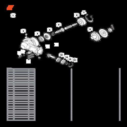 PE-266 SN T41813001001 - T41813999999 - Gear Case Parts lookup