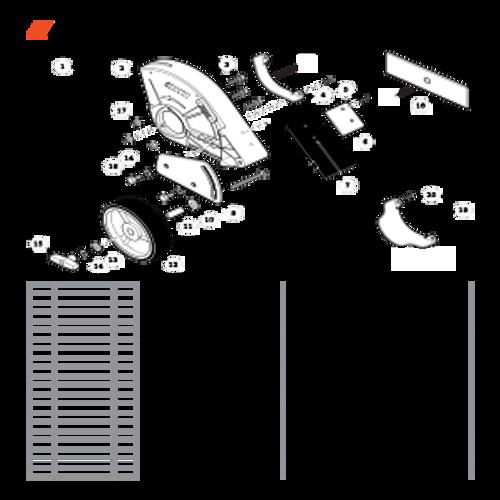PE-266 SN T41813001001 - T41813999999 - Edger Shield S/N T41813001001 - T41813001028 Parts lookup