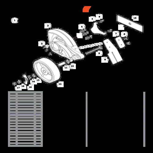 PE-266 SN T41813001001 - T41813999999 - Edger Shield S/N T41813001029 - T41813999999 Parts lookup
