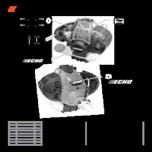 PE-266 SN T41813001001 - T41813999999 - Labels Parts lookup