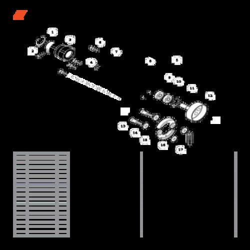 PE-266S SN T43611001001 - T43611999999 - Fan Case S/N T43611001171 - T43611999999 Parts lookup