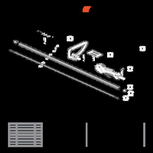 PE-266S SN T43611001001 - T43611999999 - Main Pipe S/N T43611001171 - T43611999999 Parts lookup