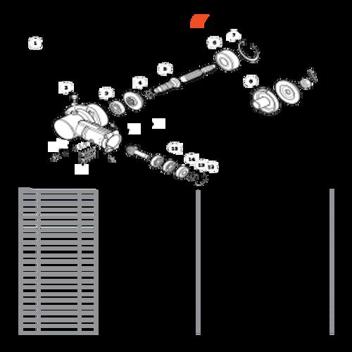 PE-266S SN T43611001001 - T43611999999 - Gear Case S/N T43611001139 - T43611999999 Parts lookup