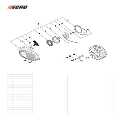 CS-303T SN C26213001001 - C26213999999 - Starter SN C26213001001 - C26213001185 Parts lookup