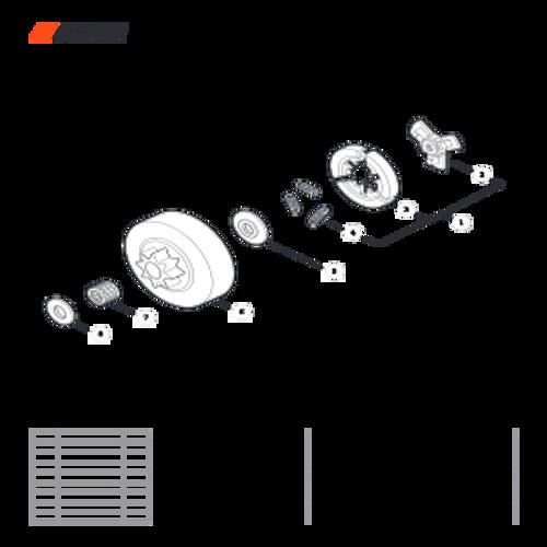 CS-303T SN C26213001001 - C26213999999 - Clutch Parts lookup