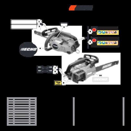 CS-303T SN C26213001001 - C26213999999 - Labels Parts lookup
