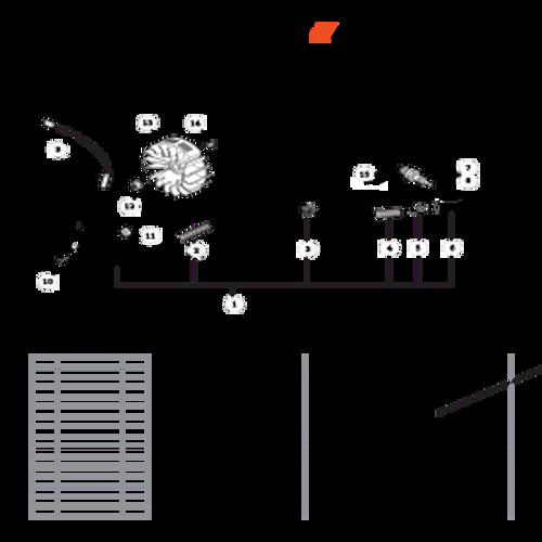 CS-330T SN C04212001001 - C04212999999 - Flywheel, Ignition Parts lookup