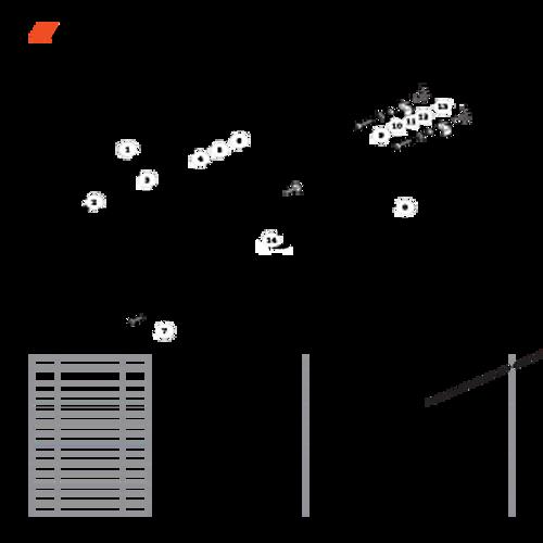 CS-330T SN C04212001001 - C04212999999 - Recoil Starter Parts lookup
