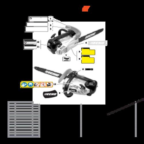 CS-330T SN C04212001001 - C04212999999 - Labels Parts lookup