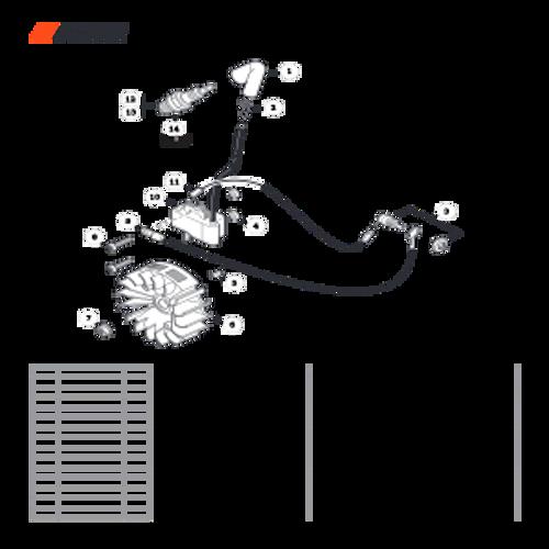 CS-352 SN C19813001001 - C19813999999 - Ignition Parts lookup