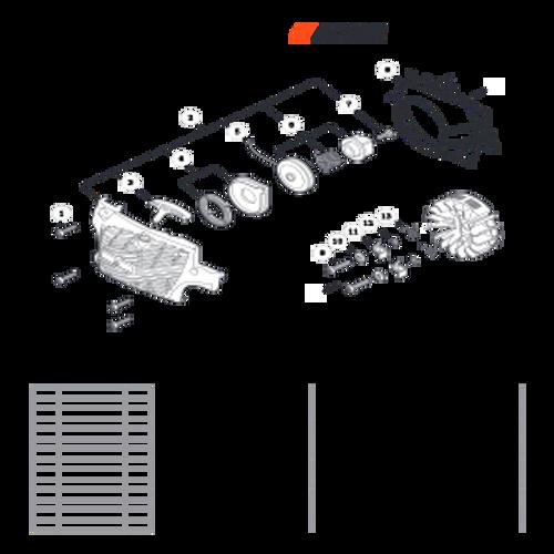 CS-352 SN C19813001001 - C19813999999 - Recoil Starter S/N C19813001001 - C19813006426 Parts lookup