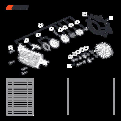 CS-352 SN C19813001001 - C19813999999 - Recoil Starter S/N C19813006427 - C19813006678 Parts lookup