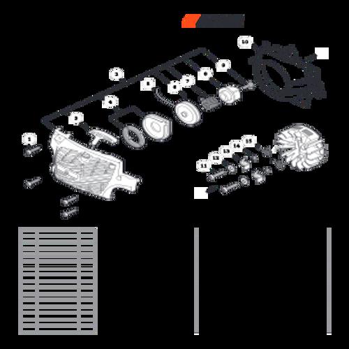 CS-352 SN C19813001001 - C19813999999 - Recoil Starter S/N C19813006679 - C19813999999 Parts lookup